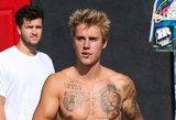 Fanai neteko žado pamatę naują Justino Bieberio tatuiruotę: ji neįtikėtina