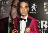 Naujasis Robbie Williamso albumas be konkurencijos užsitikrino pirmą vieną britų tope