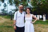 Erika ir Jurgis Didžiuliai surengė šou gimdymo namuose