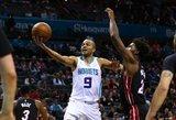"NBA: ""Rockets"" toliau klimpsta, Parkeris prisiminė jaunystę"