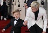 """Mieliau nebūna: Justinas Bieberis į """"Grammy"""" atsivedė savo broliuką"""
