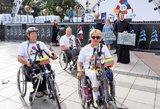 Baltijos kelyje po 30 metų – ir vežimėliais judantys neįgalieji