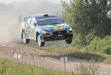 """""""Wellman Rally team"""" lenktynininkai apdovanoti Latvijoje"""