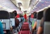Dėl orą gadinančio keleivio – žaibiškas lėktuvo nusileidimas