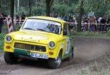 """To dar nebuvo: svečiai iš Vokietijos """"300 Lakes Rally"""" trasas šturmuos """"Trabantu"""""""