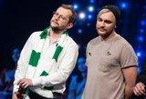 """Vieno """"Eurovizijos"""" pasirodymo metu – vyrų bučinys"""