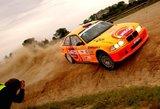 Karolis Raišys tapo Lietuvos automobilių ralio čempionu