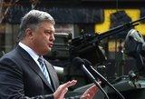Ukrainos lyderis kritikuoja Lenkijos kontroversišką įstatymą