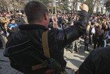 """Referendumų galia: Rusija pažadėjo """"greitai išspręsti"""" Krymo prisijungimo klausimą"""
