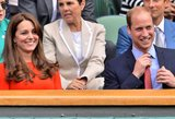 Vimbldono turnyre pasirodžius Kate Middleton žiūrovai pašėlo