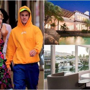Pamatykite, kur su žmona gyveno Bieberis: vaizdas pro langus gniaužia kvapą