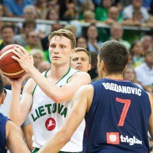 Grigonis įvertino akistatą su Bogdanovičiumi: jis uždarė rungtynes