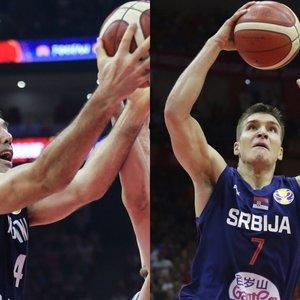 """""""5 prieš 5"""": Serbijos ir Argentinos """"ginklai"""", kurie papuoš tarpusavio dvikovą"""