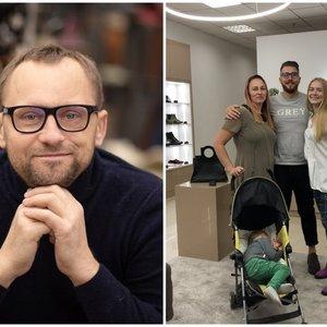 Šeima Klaipėdoje išpildė prieš savaitę mirusio avalynės kūrėjo svajonę: vyrui tebuvo 44-eri