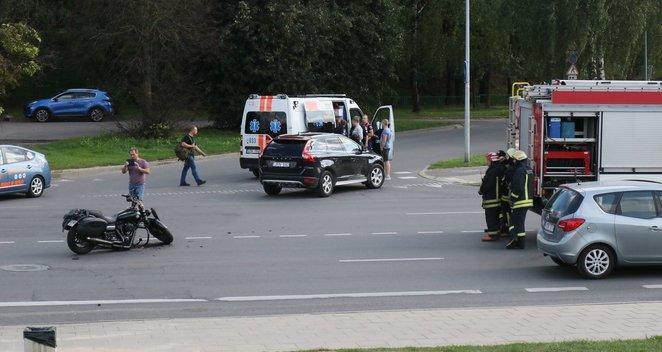 Avarija Vilniuje