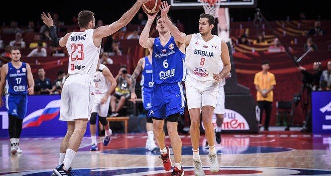 Pasaulio čempionatas: Serbija-Čekija