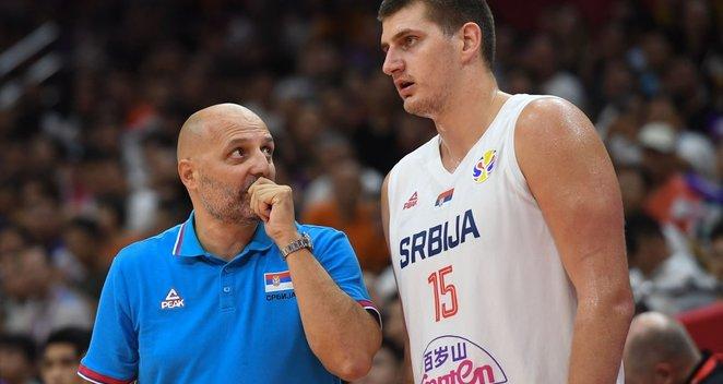 Serbijos vyrų krepšinio rinktinė