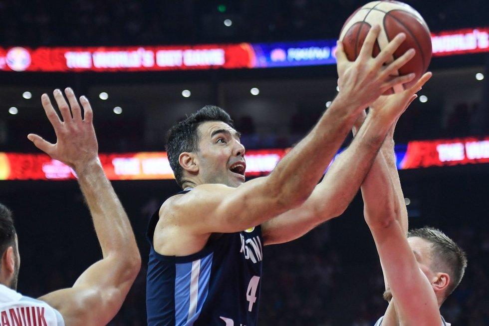 Argentinos vyrų krepšinio rinktinė (nuotr. SCANPIX)