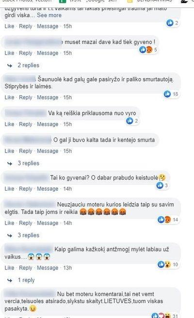 Šiurpą keliantys lietuvių komentarai (nuotr. facebook.com)