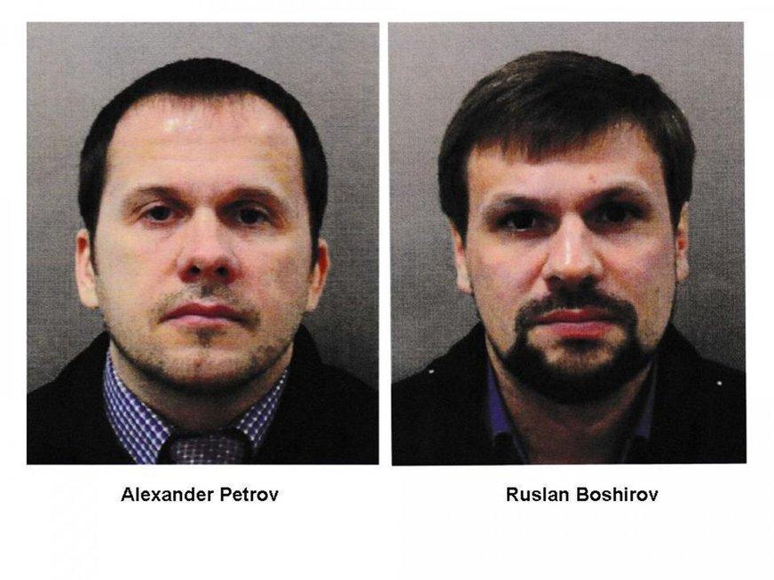 Ruslanas Boširovas ir Aleksandras Petrovas (nuotr. SCANPIX) tv3.lt fotomontažas