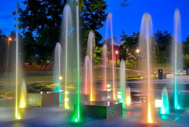 Gražiausi fontanai Lietuvoje (Nuotr. Pamatyk Lietuvoje)
