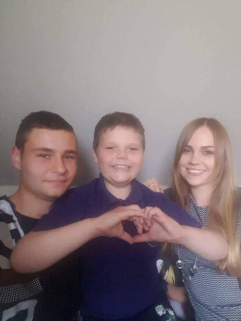 Justino gyvenimą paženklino itin reta genetinė liga, tačiau šiandien berniukas jaučiasi kaip niekada gerai ir yra pasveikęs (nuotr. asm. archyvo)
