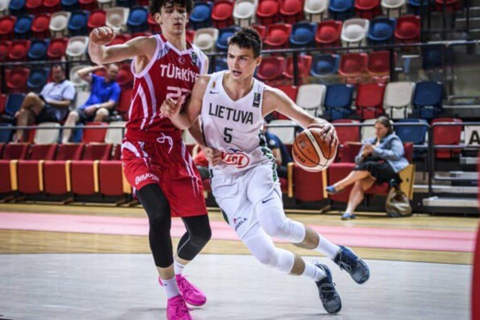 Lietuviai įveikė turkus (nuotr. FIBA Europe)