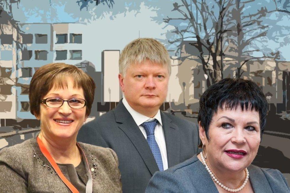 Birutė Vėsaitė. Kęstutis Navickas. Audronė Pitrėnienė (nuotr. tv3.lt)