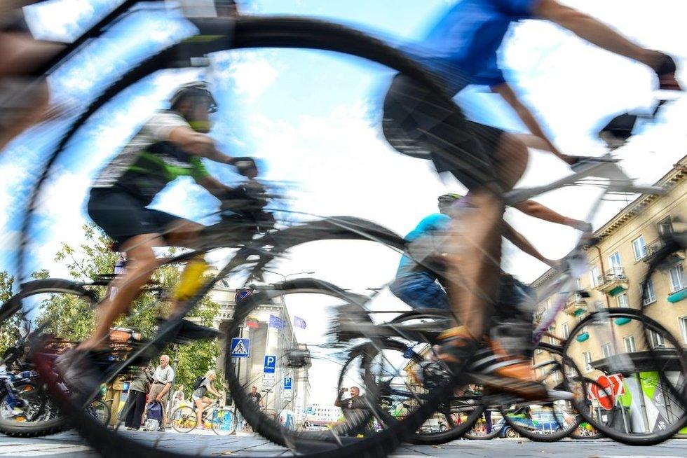 Pokyčiai dviračių federacijoje (nuotr. fotodiena/Justino Auškelio)