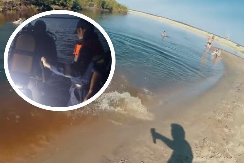 Atostogų košmaras: tėvai gelbėjo skęstančius vaikus, viso nuskendo 7 žmonės (nuotr. YouTube, asociatyvi nuotr.)