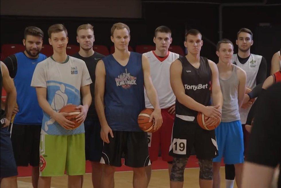 Atranka į reprezentacinę Lietuvos šimtmečio 3x3 krepšinio komandą (nuotr. Organizatorių)