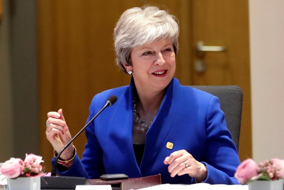 Didžiosios Britanijos premjerė Theresa May (nuotr. SCANPIX)