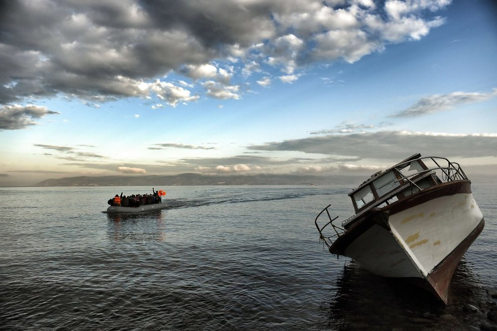 Nuskendo migrantai (nuotr. SCANPIX)