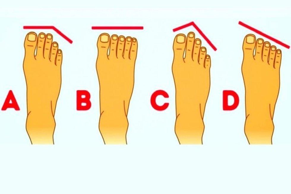 Pėdos pirštų ilgis gali atskleisti ir slaptas charakterio savybes
