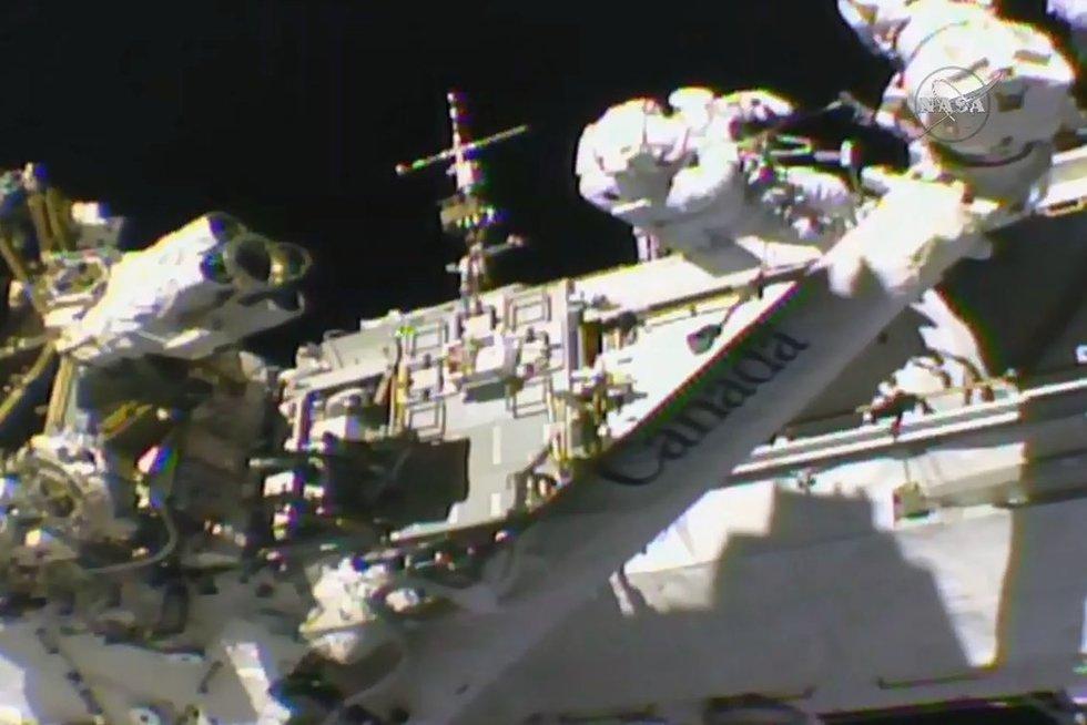 Tarptautinė kosminė stotis (nuotr. Scanpix)