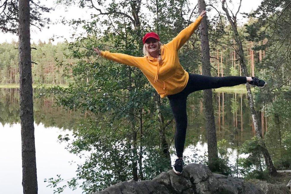 """Miglė Miglinaitė stovyklavo Suomijoje vykusioje tarptautinėje """"Lions"""" I tipo cukrinio diabeto stovykloje. (nuotr. asm. archyvo)"""