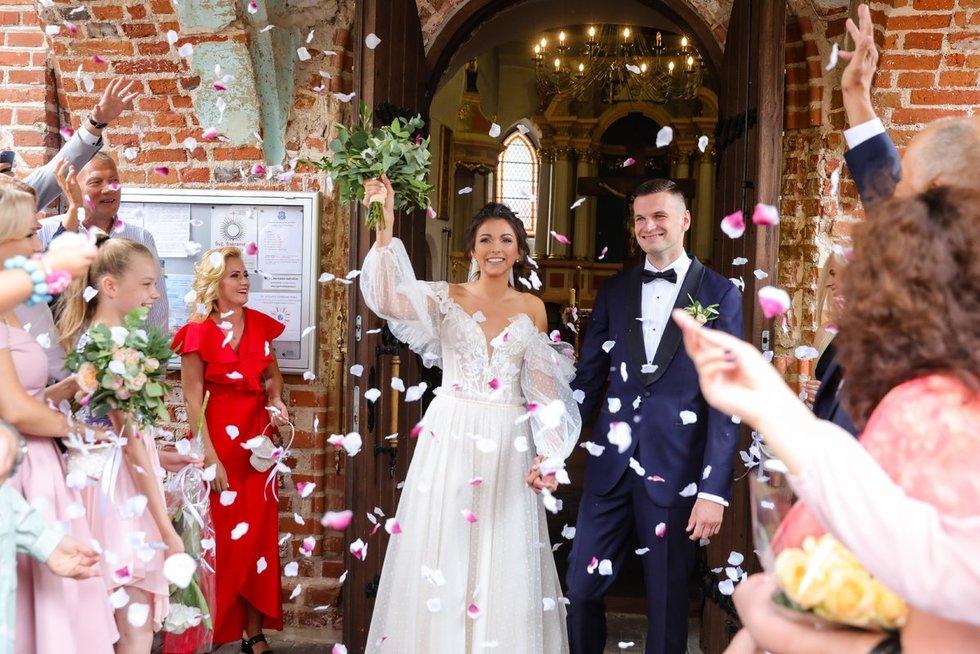 Tomo Dimšos ir Gintarės Jasiunskaitės vestuvės(nuotr.Teodoro Biliūno) (Fotobankas)