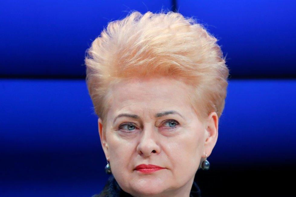 Prezidentė gina Lenkiją ginče su ES: negalime vieni kitų kaltinti ir gėdinti (nuotr. SCANPIX)