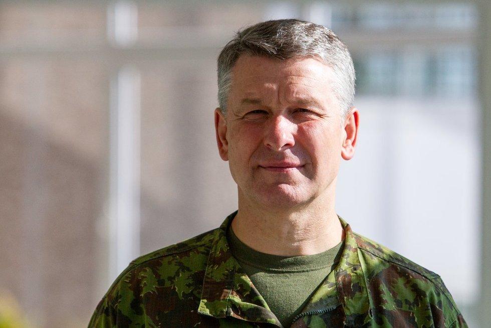 Kariuomenės vadas Valdemaras Rupšys (Paulius Peleckis/Fotobankas)