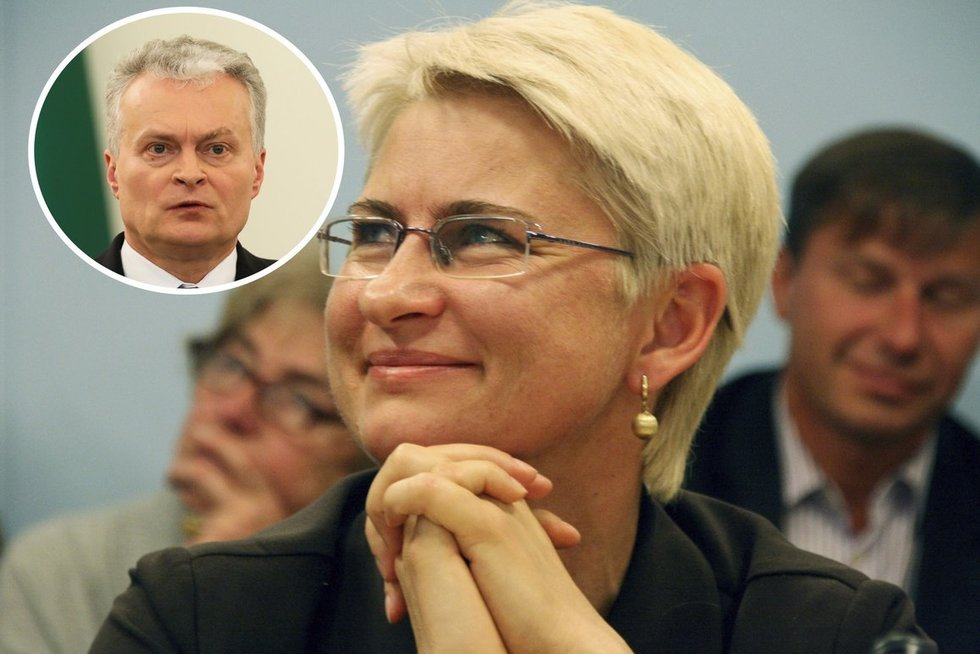 Venckienės advokatai tikisi Nausėdos malonės (nuotr. SCANPIX)