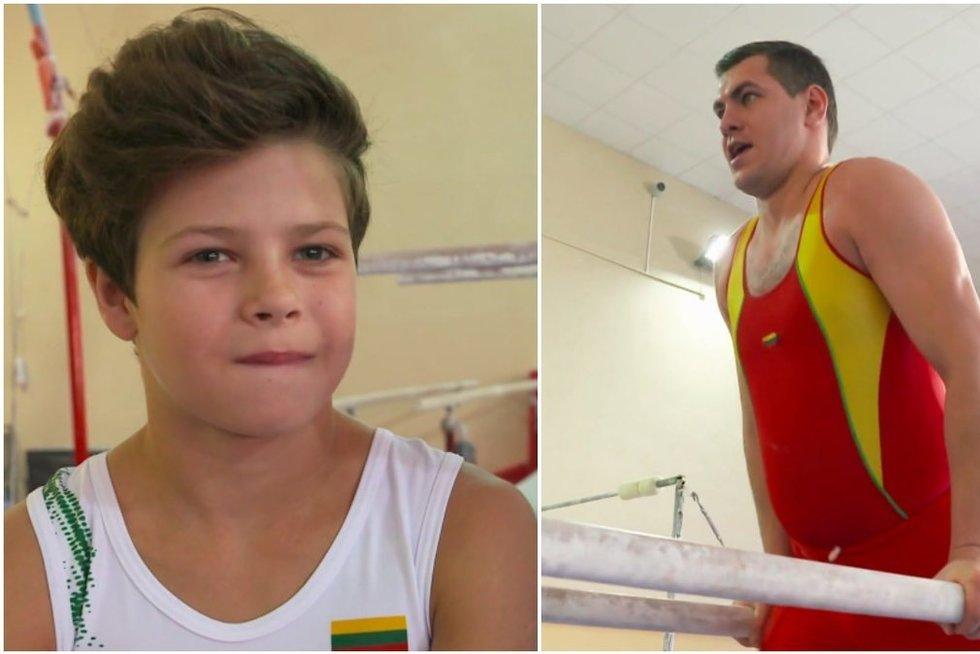 Jankevičius metė iššūkį talentingam gimnastui: tokio rezultato nesitikėjo