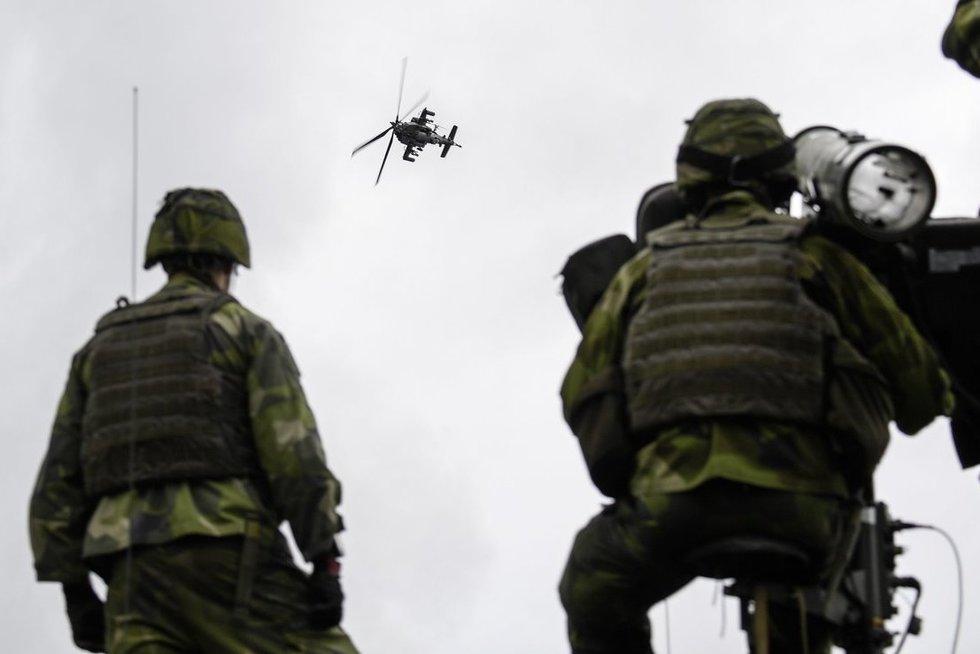 Karinės pratybos (nuotr. SCANPIX)