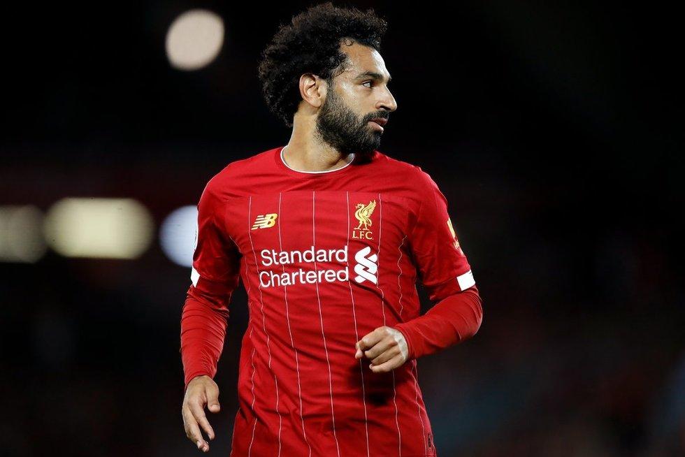 M. Salah (nuotr. SCANPIX)