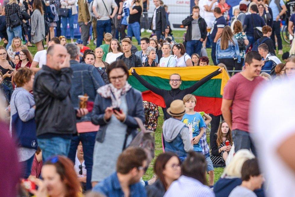 """TV3 organizuotas šimtmečio piknikas """"Vilnius – Lietuvai"""" (nuotr. fotodiena/Justino Auškelio)"""