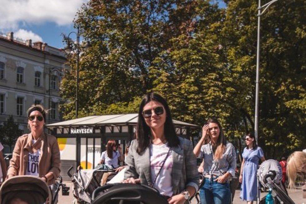 Ekskursija po Vilniaus senamiestį (nuotr. Patrikas Karpickas)