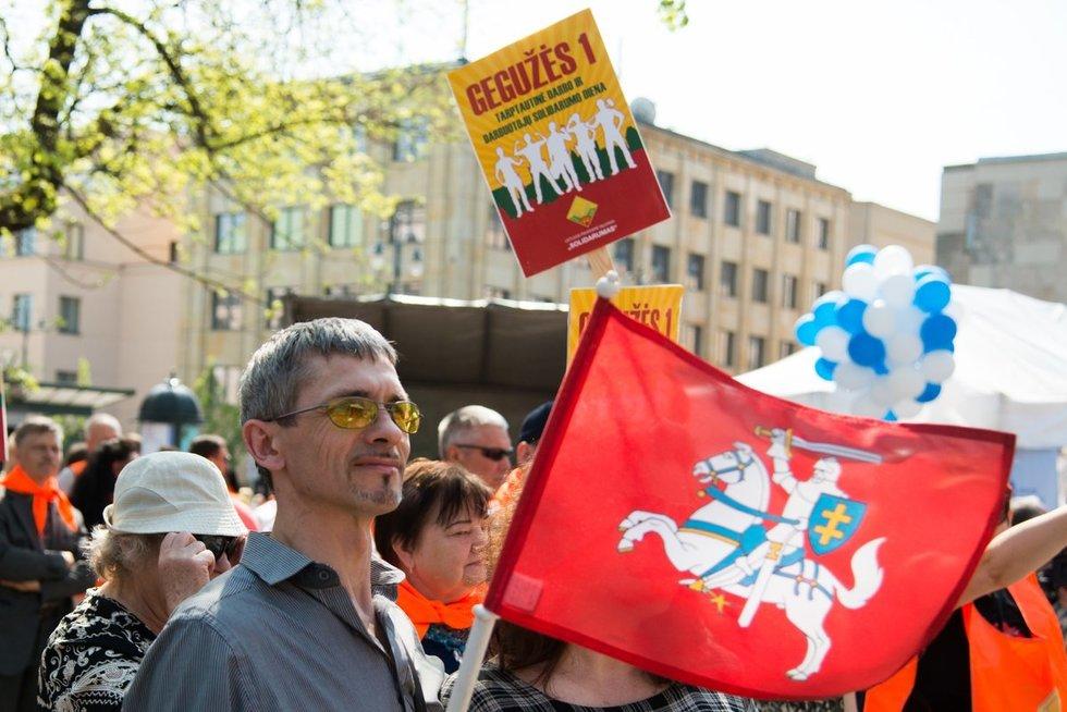 Gegužės 1-oji – Tarptautinė darbo diena Vygintas Skaraitis/Fotobankas
