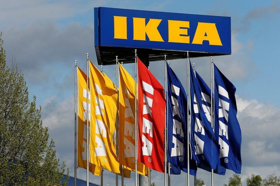 """""""Ikea"""" parduotuvė (nuotr. SCANPIX)"""