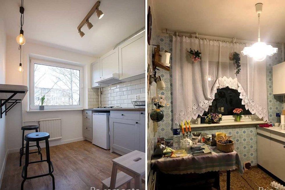 Vilnietės įrengtas mažas butas nustebino patį savininką (Eglės Savickaitės nuotr.)