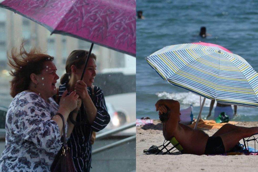 Lietingą liepą sulauksime ir gražių orų (tv3.lt koliažas)