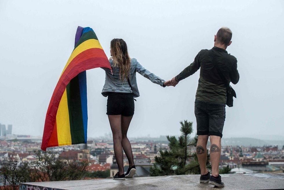 """Sykį ir visam laikui: jokio """"homoseksualumo geno"""" nėra (nuotr. SCANPIX)"""